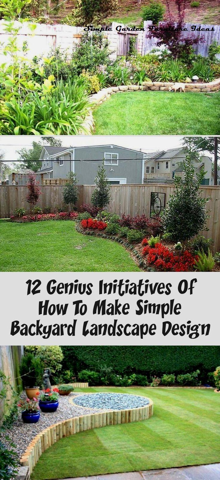 Most Affordable And Simple Garden Furniture Ideas Furniture Furnituremakeover In 2020 Backyard Landscaping Designs Small Garden Layout Diy Garden Furniture