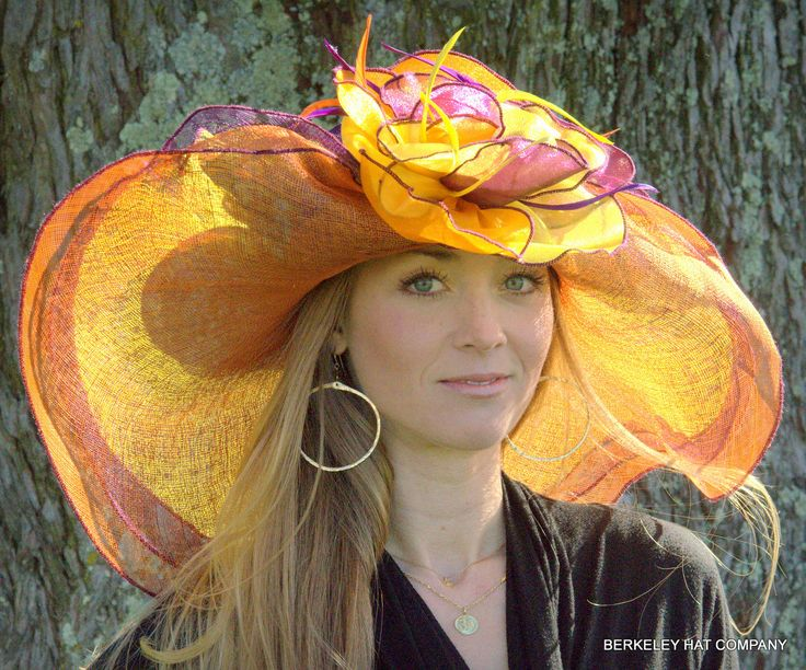 Kentucky Derby hat - elegant and classy!