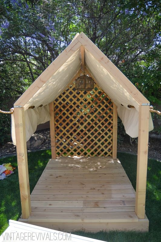 Build an outside structure to use as a summer reading Nook @Rósa Guðjónsdóttir revivals