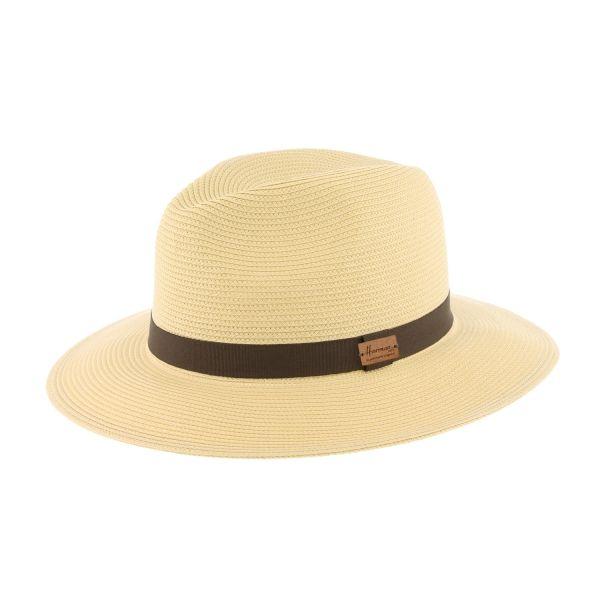 Grand chapeau paille beige Macbird #chapeaupaille @hermanheadwear #mode #bonplan #homme #startup