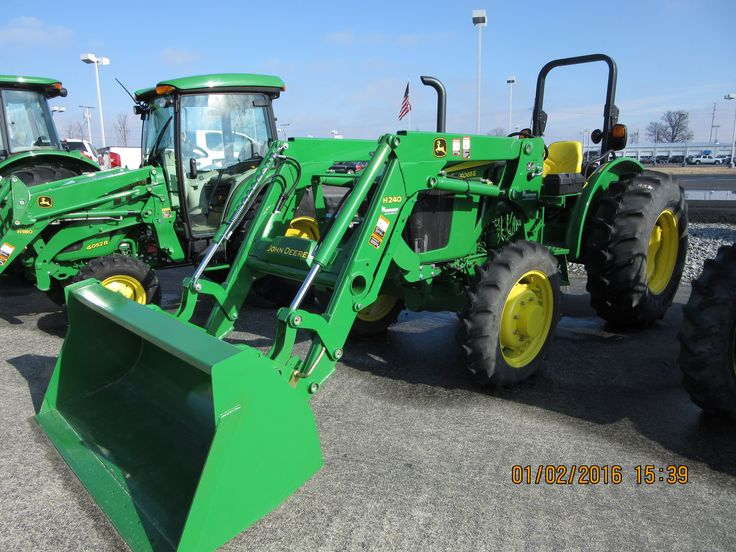 John Deere 5065E equipped with H240 loader
