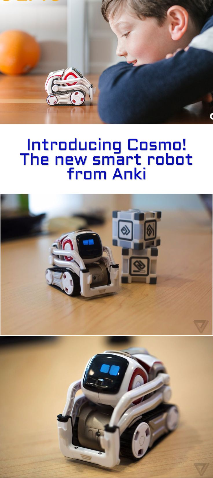 The new Anki Cosmo Robot is a great high tech toy with advanced A.I. that comes with a raft of features.