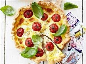 Quiche met Tomaat, Mozzarella en Basilicum - Recept Details