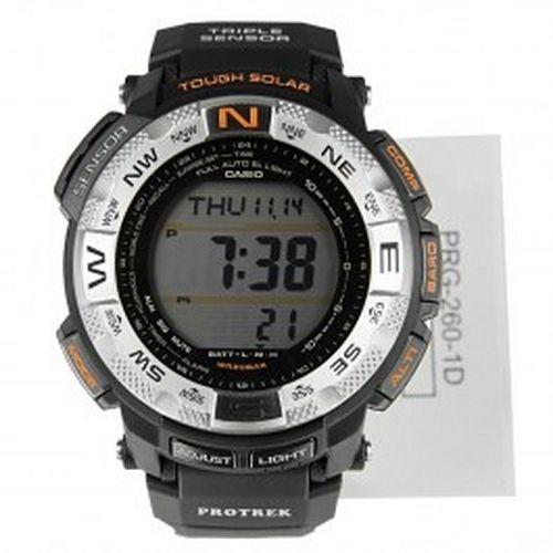 Casio Protrek Digital Tough Solar Mens Watch PRG-260-1D