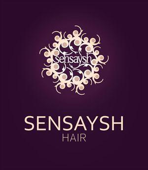 Sensaysh Hair | Logo Design by Corinne Jade