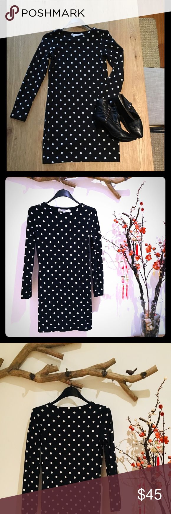🔥SALE🔥Crepe Black and White Polka dot Dress Crepe Black and White polka dot dress. I an really good condition. I only wear it once for A girls night out! This is perfect for the upcoming holidays must outfit 🌸 & Other Stories Dresses Mini