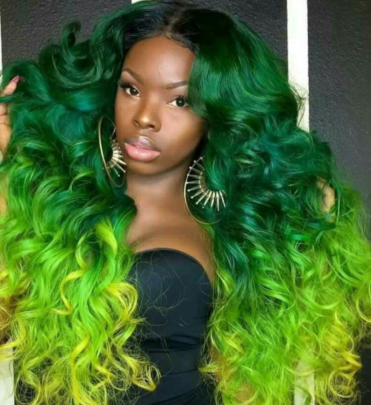 green hair styles 17 best images about i see your true colors shining 5445