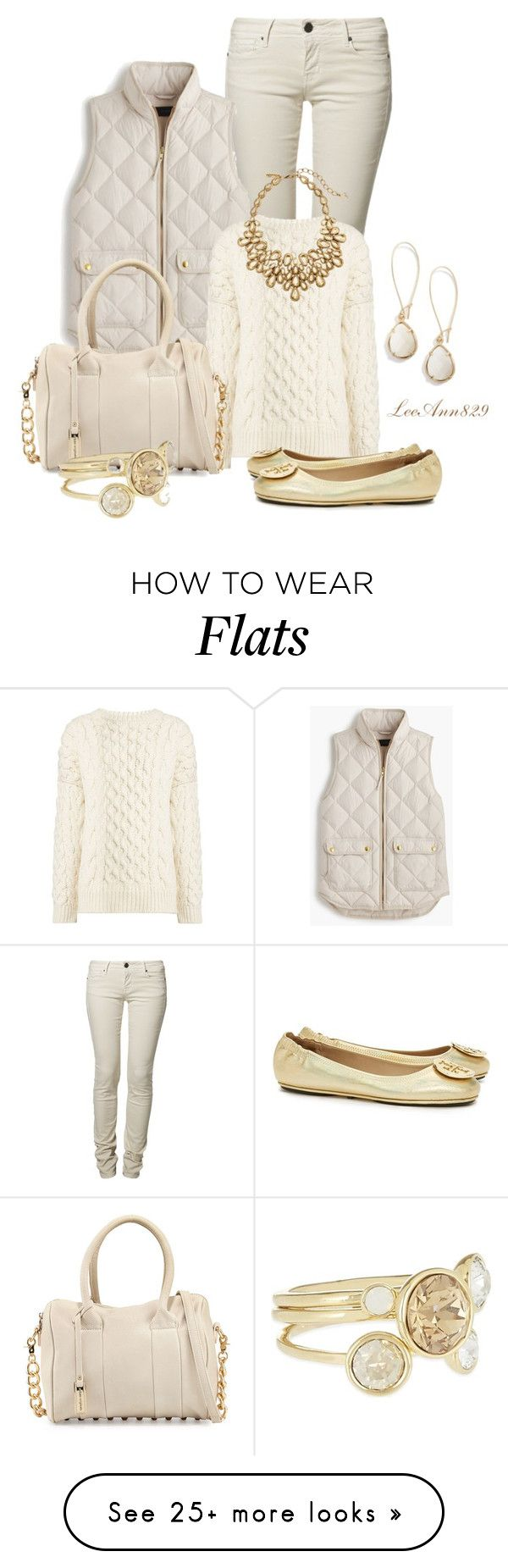 """Untitled #944"" by leeann829 on Polyvore featuring CIMARRON, Kendra Scott, J.Crew, Joseph, Urban Originals, Ted Baker, Tory Burch and Oscar de la Renta"