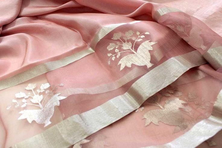 CU: Beautiful #Silk #Saree by http://www.RawMango.in/ Chattarpur, South Delhi