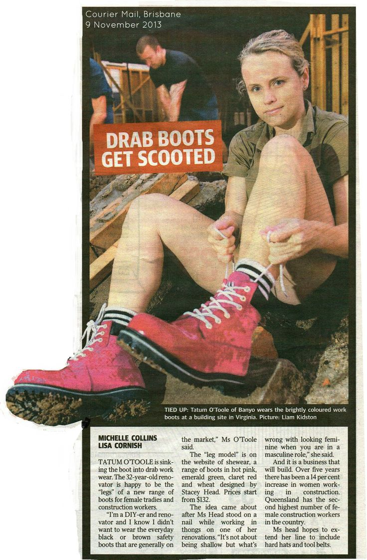 article from the brisbane courier mail, 9 November. #shewear