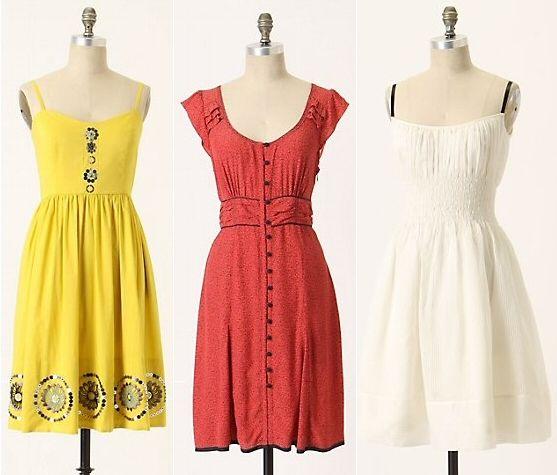 dresses - i love the yellow!