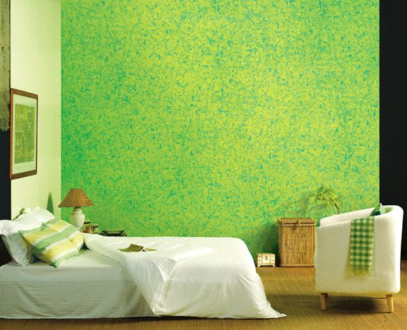 Eye Refreshing Green Wall By Royal Play