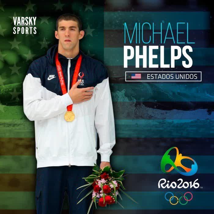 """""""Michael Phelps"""" es tendencia porque el nadador consiguió su medalla de oro numero 23. http://mexico.srtrendingtopic.com/trend/68044/2016-08-08/2016-08-08/michael-phelps.html"""