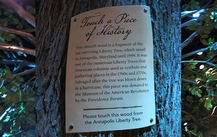 Life Size Replica Of Boston Liberty Tree Liberty Tree New Museum American Revolution