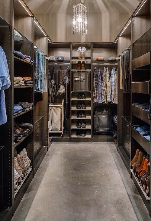 For my husband because I need my own closet :)