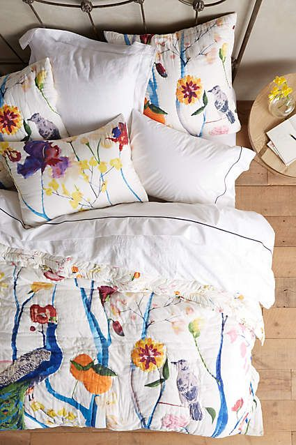 Garden Chinoiserie Bedding - anthropologie.eu