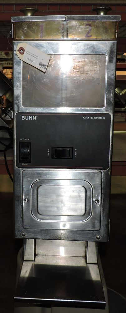 Bunn G9-2 HD Portion Control Commercial Coffee Grinder w/ 2 Hoppers #Bunn #Grinder