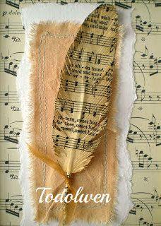 Todolwen (nouvelles): Un nouveau tutoriel ~ Hymne page Plumes