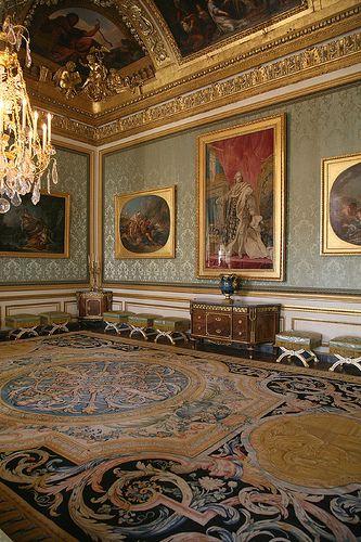 Chateau de Versailles  Detail, King's & Queen's State Apartments - Versailles_02