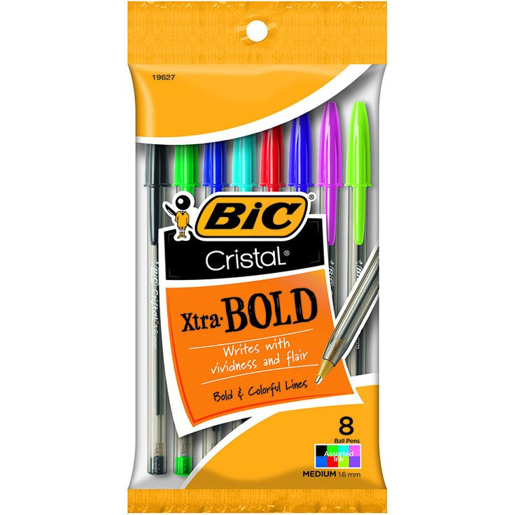 BIC CRISTAL XTRA BOLD PACK OF 8