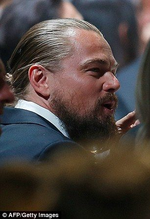 GIRL ABOUT CANNES: Bald 'truth' about Leonardo DiCaprio's beard | Daily Mail Online