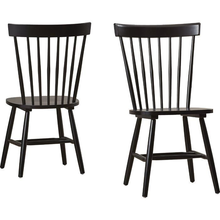 Craft an elegant dining room ensemble with this timeless chair, or add it to the guest suite topped with plush towels to welcome out-of-towners. $130(2)