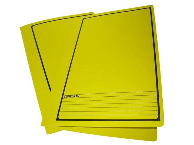 Looking for a durable file? Try a Yellow Tubeclip File - These yellow files are made from heavy weight board and have a tubeclip inserted in the file. Black printing on the front. Foolscap size (367 x 242mm). The tubeclip fastener inside this file allows mid file retrieval meaning it is easy to add and remove files at any spot within the file.