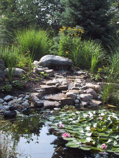 Bachlauf Baeck.jpg 400×533 Pixel #Garden water