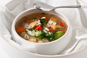 Chunky Chicken Vegetable Soup recipe