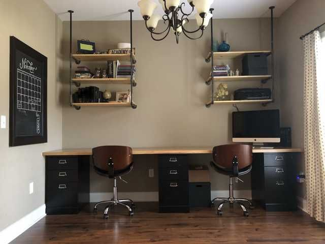 Diy Easy Dining Room To Home Office, Convert Dining Room To Home Office Chair