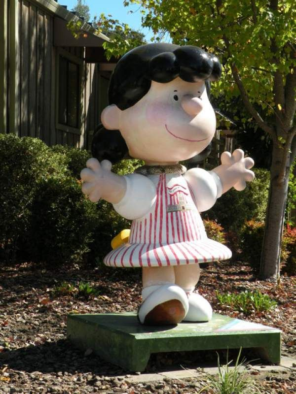 Peanuts Gang, Charlie Brown, Sonoma County, Snoopy, Statues, Effigy, Peanuts