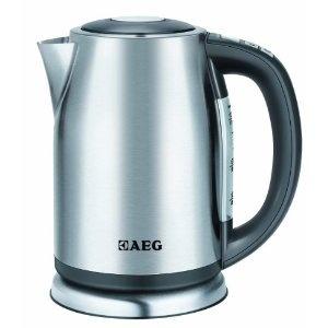 AEG EWA 7500 Wasserkocher / Temperaturvorwahl Mit Digitalanzeige / 1.7  Liter / Testsieger (Guter Rat