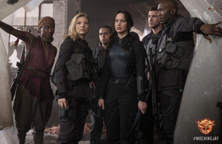 Katniss Everdeen - a welcomed sight in District 8. #Mockingjay