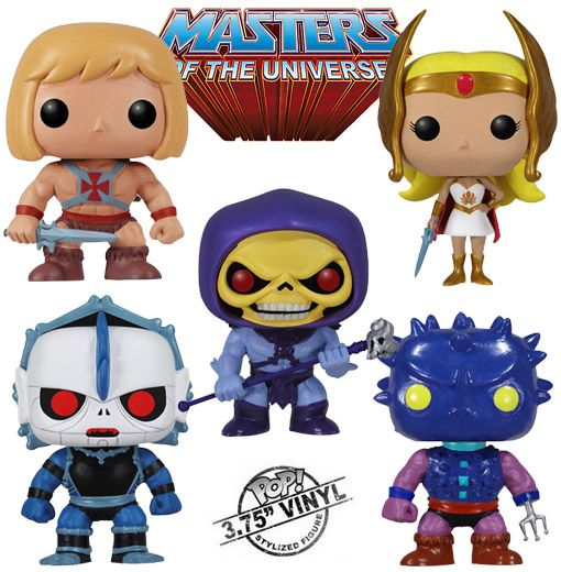 Master of the Universe - Pop Figures