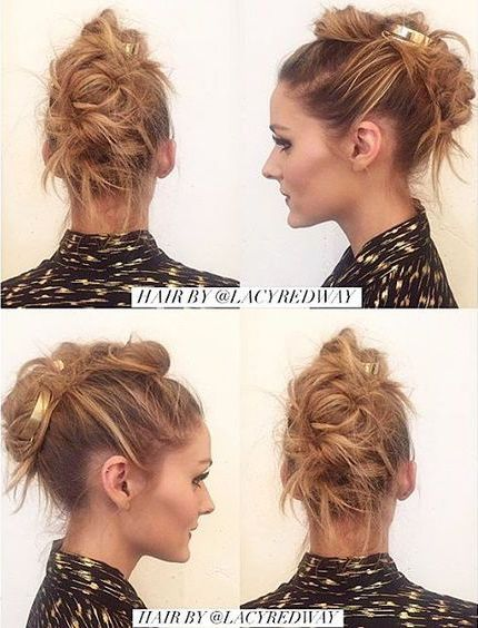 Achieve Olivia's stunning hairstyle in just a few easy steps: