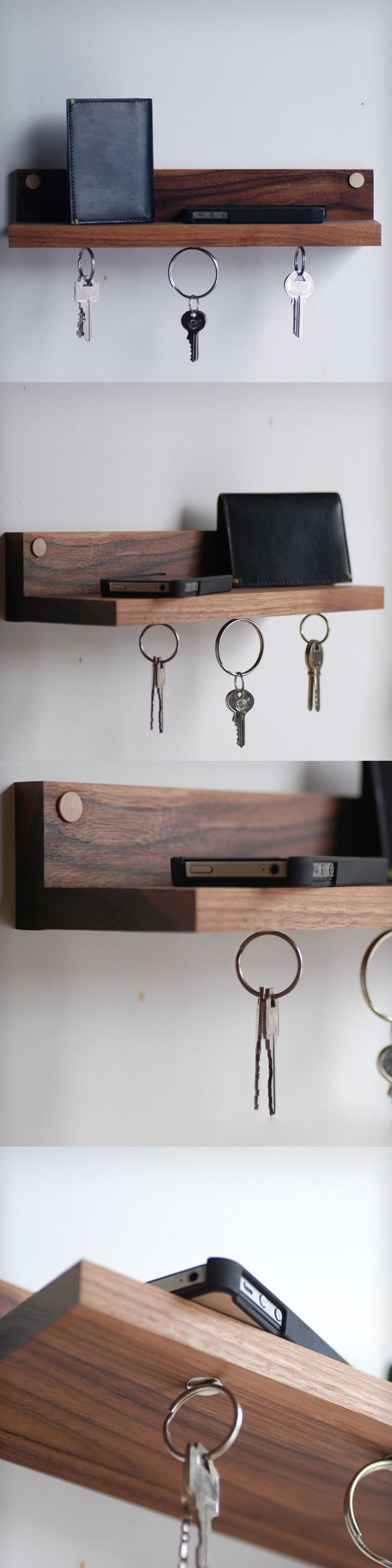 Porta llaves Wood ShelfKey HoldersBook 23