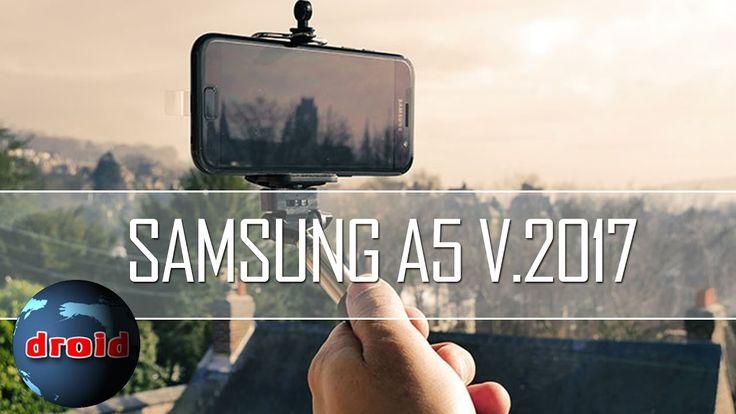 Samsung A5 version 2017 test caméra vidéo Full HD. En mode automatique et nocturne.