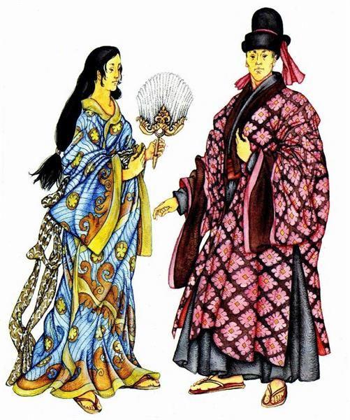 Япония национальный костюм мужчины