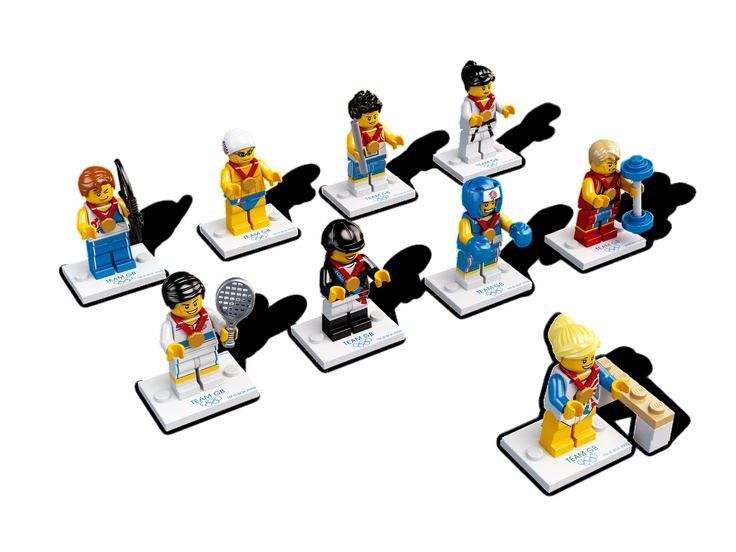 Team GB Minifigures (8909)