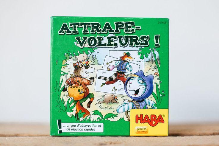 Haba, nos 5 jeux préférés Attrape-voleurs !