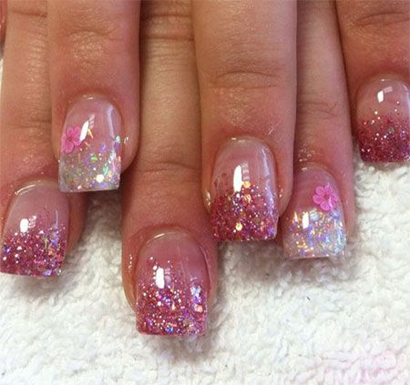 Valentine's Day Acrylic Nail Art - 41 Best Valentine's Day Acrylic Nail Art Images On Pinterest