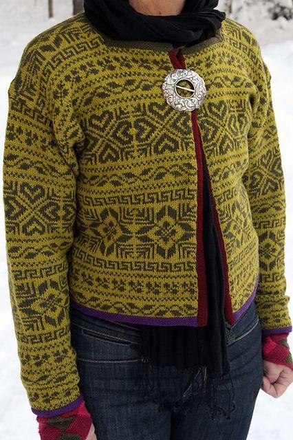 Ravelry: Jakke pattern by Rauma Designs, Rauma mod. 1289