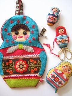 Gera'sl cross stitch sewing kit