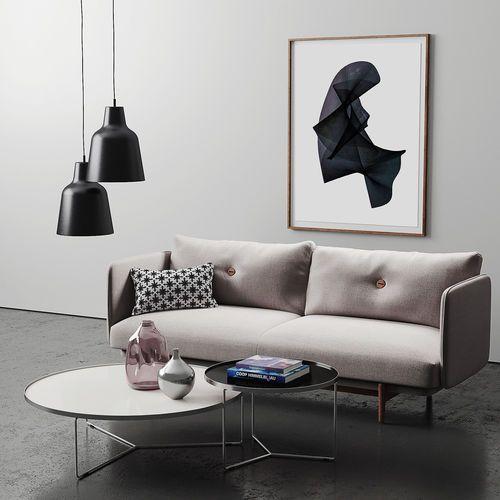 industry west weekend sofa set 3d model max obj fbx mtl mat