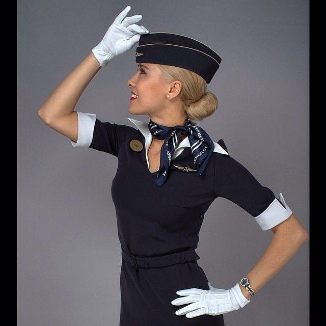 Aeroflot Stewardess