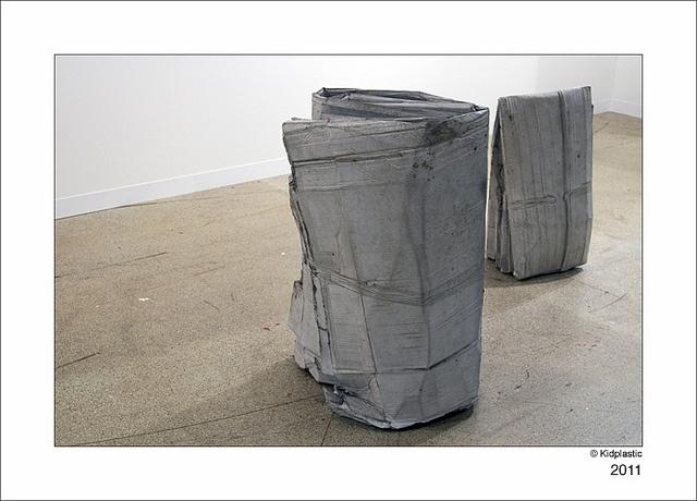Tatiana Trouvé, Untitled, 2011 et Untitled, 2011 - Art 42 Basel 2011, Galerie Johann König by kidplastic, via Flickr