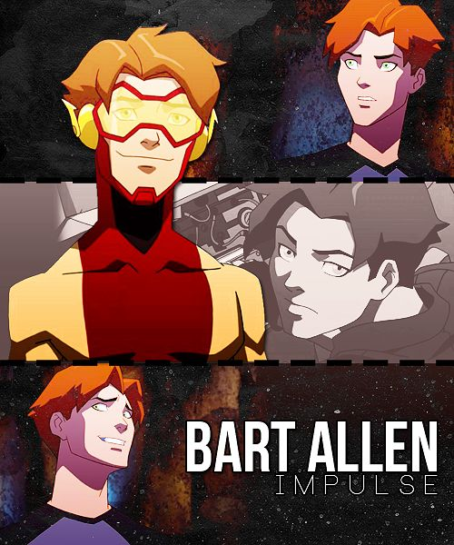 Hi! I'm Bart Allen AKA Impulse, and I'm from the future! It's great to meet you all!