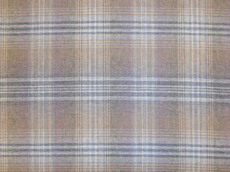 Details About Balmoral Tartan 100 Wool Large Check Fabric