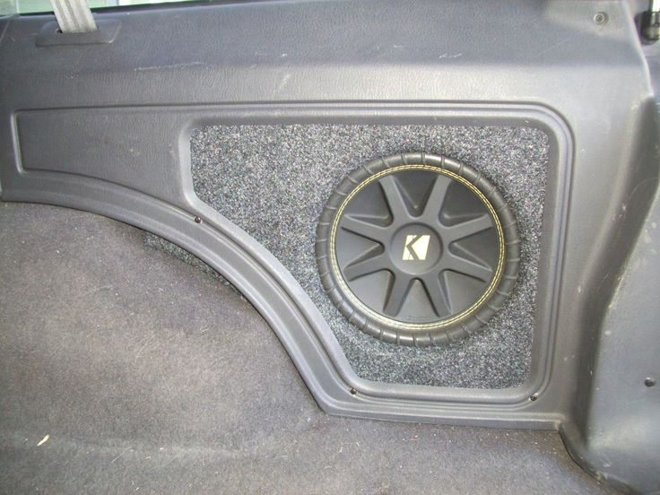 Bass without losing space - Jeep Cherokee Forum