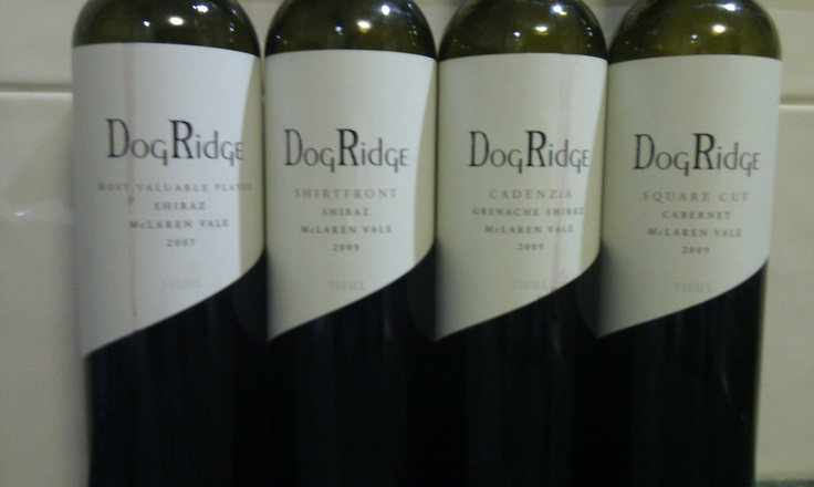 Dog Ridge Wines - McLaren Vale ... the dog pack
